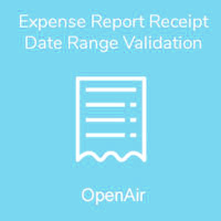 Expense Report Receipt Date Range Validation