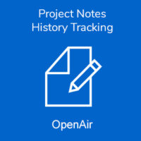 Project Notes History Tracking