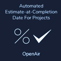 Automated Estimate-at-Completion Date For Projects