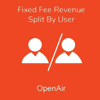 Fixed Fee Revenue Split By User