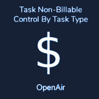 Task Non-billable Control By Task Type