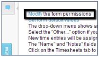 Modify Form Permissions